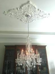 ceiling medallions for chandelier content uploads installing medallion ceiling medallions for chandelier