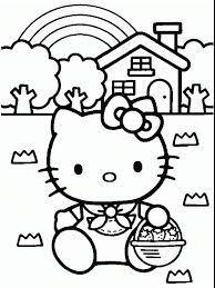 You can easily print or download them at your convenience. Free Printable Hello Kitty Coloring Pages For Kids