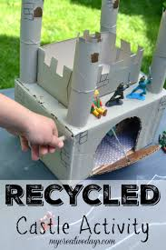 Castle Designs For School Projects Waste Material Craft Ideas For Kids Homemade Castle Craft