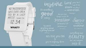 Watch Quotes Mesmerizing Quotes Watch The Art Of Words By What Watch Kickstarter