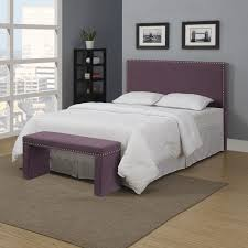 Image Of: Chic Purple And Grey Bedroom