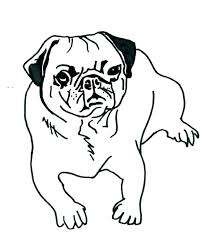 Pug Pictures To Color Pug Coloring Pug Coloring Page Pug Coloring