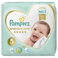 <b>PAMPERS Подгузники Premium</b> Care Junior (11+ кг) Экономичная ...
