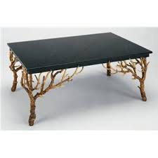 Granite tops can be smooth or rough on the surface, so keep in mind the intended use of the coffee table. Black Granite Top Designer Coffee Table