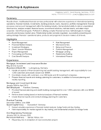 Sample Resume For Experienced Banking Professional Professional International Banking Professional Templates to 60