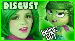 inside out disgust makeup tutorial disney pixar cosplay kittiesmama you