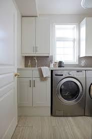 Utility Sink Backsplash Amazing Nest Design Studio Laundrymud Rooms White And Gray Laundry Room