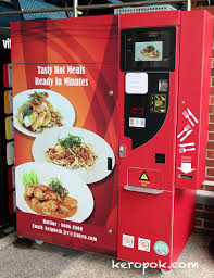 Vending Machines Hot Food