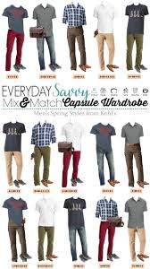 Kohls Size Chart Mens Mens Capsule Wardrobe For Spring With Items From Kohls