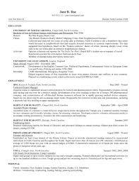 Forensic Science Resume Template Enchanting Mba Resume Sample
