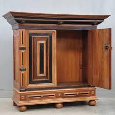 vintage antique furniture wardrobe walnut armoire. Dutch Oak And Ebony Renaissance Cupboard | De Grande Antique Vintage Furniture Wardrobe Walnut Armoire