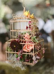 Decorating: Flower Birdcage Gardens - Birdcage Ideas