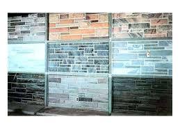 stone wall paneling sandstone decor elegant faux ideas rock panels outdoor