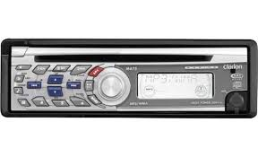 clarion m475 marine cd receiver at crutchfield com clarion m475 front