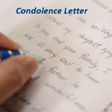 write a condolence letter to friend who lost his mother write a condolence letter to friend who lost his father