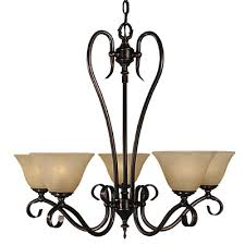 black forest 5 light chandelier shade color champagne finish mahogany bronze 9155 mb