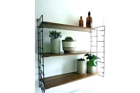 mid century modern wall shelf shelving unit brackets brass m diy