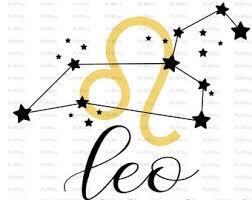 Leo zodiac svg | Etsy