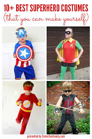 10 best superhero costumes that you can make yourself