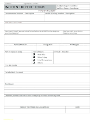 Medium To Large Size Of Incident Report Letter Sample In