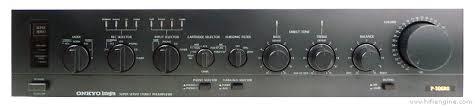onkyo preamp. onkyo p-306rs stereo preamplifier preamp