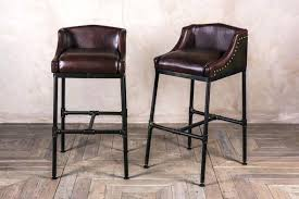 Archives Leather Bar Stools With Back H93