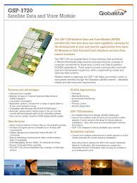 Gsp-1720 Sell Sheet_Fin | Scada | Short Message Service