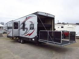 haylettrv 2016 vengeance 320a toy hauler fifth wheel by forest river rv