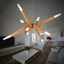 creative contemporary led ceiling lamp acrylic lamp shade irregular figure shape living room bedroom led