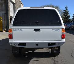 TOYOTA TACOMA REAR BUMPER 1995-2004- HEAVY DUTY- OFF ROAD W/ HITCH ...