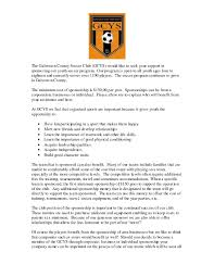 youth football sponsorship letter template sponsorship levels template