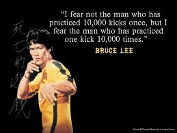 Bruce Lee Water Quote Extraordinary Bruce Lee Quote Deliberate Practice