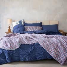 Lazybones Rosette Quilt - Indigo | Home Decor | Pinterest ... & Lazybones Rosette Quilt - Indigo Adamdwight.com