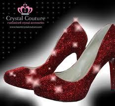 dorothys ruby red slipper wedding dress from crystal couture Red Wedding Heels Uk dorothys ruby red slipper red wedding heels uk