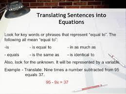 2 translating sentences into