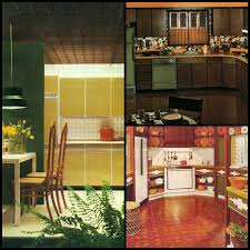 Yellow And Brown Kitchen 1970s Kitchens In Warm Autumn Tones