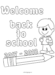 back to school coloring pages back school to coloring page day of pages back to school