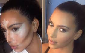 contour makeup kit for dark skin. kim kardashian contouring contour makeup kit for dark skin g