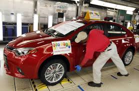 Toyota Plant Puts Foreign Car Makers on Path to Pass Detroit in ...
