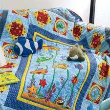Sea Pals: Ocean-Theme Kids Quilt Pattern & Deep Sea Pals: Ocean-Theme Kids Quilt Pattern Adamdwight.com