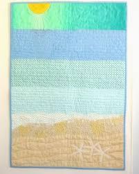 Best 25+ Beach quilt ideas on Pinterest | Ocean quilt, Landscape ... & Sea Quilts: ~ Sea Escape ~ if I ever have a beach house lol Adamdwight.com