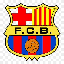 Barcelona logo png the logo of the football club barcelona comprises several heraldic symbols with a long and interesting history. Fcb Logo Fc Barcelona Uefa Champions League Logo Fcb Cdr Text Football Team Png Pngwing