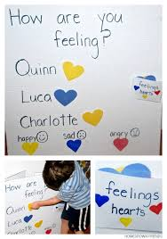 Social Emotional Growth Chart Feelings Chart For Children Homegrown Friends