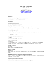Fashion Stylist Intern Resume Sample Clothing Stylist Resume Samples httpwwwresumecareer 1