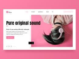 Pink Website Design Pink Original Website Design Layout Website Design