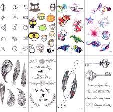 Watercolor Gadgets Cartoon Kids Temporary Tattoo Lovey Bat Children Finger Tattoo Sticker Body Arm Art Fake Flash Tattoo Pumpkin