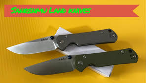 Sanrenmu <b>Land</b> knives - YouTube