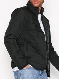 Black Quilted Jacket - Topman - Black - Jackets - Clothing - Men ... & Black Quilted Jacket Adamdwight.com