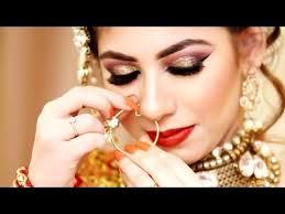 bridal makeup stani indian bridal make up and hairstyle for barat walima look