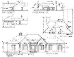 Plan No  House Plans by WestHomePlanners comREAR Elevation